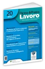 News Lavoro Previdenza - Magazine cover